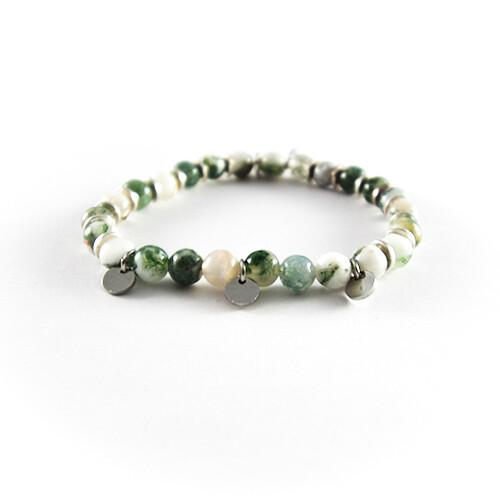 Groen kralen armbandje